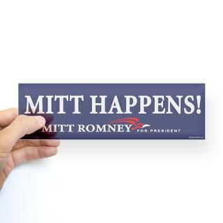 Mitt Romney Campaign Stickers  Car Bumper Stickers, Decals