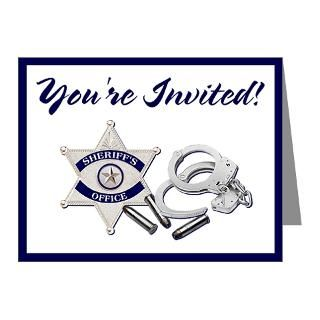 Academy Graduation Party Invitations  The Police Shop