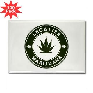 legalize marijuana rectangle magnet 100 pack $ 151 99