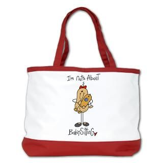 Nuts About Babysitting Tshirts and Gifts  Stick Figure Shop