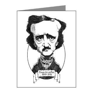 Edgar Allan Poe Thank You Note Cards