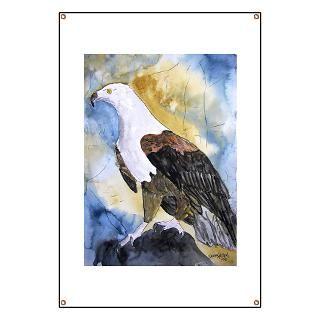 eagle watercolor paintings fine art modern gifts  Eagle bird fine art