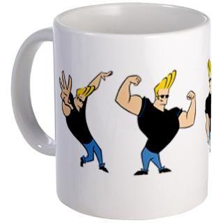 Johnny Bravo T Shirt JOHNNY BRAVO FAN Tote Bag Cartoon Johnny Bravo