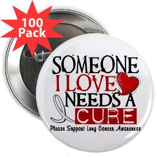 Needs A Cure LUNG CANCER T Shirts & Gifts  Awareness Gift Boutique