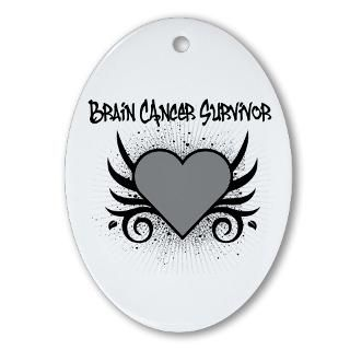 Brain Cancer Survivor Tattoo Shirts & Gifts : Shirts 4 Cancer