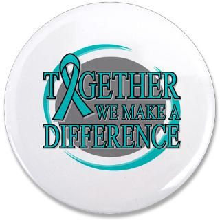 Ovarian Cancer Together Ribbon Shirts & Gifts  Gifts 4 Awareness