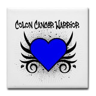Colon Cancer Warrior Tattoo Shirts & Gifts  Shirts 4 Cancer Awareness