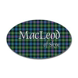Tartan   MacLeod of Skye Sticker (Bumper)