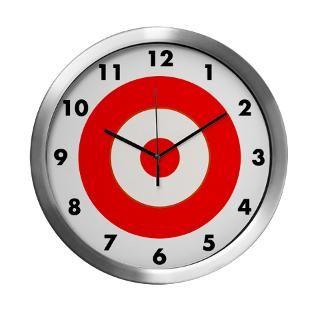 Bullseye Clock  Buy Bullseye Clocks