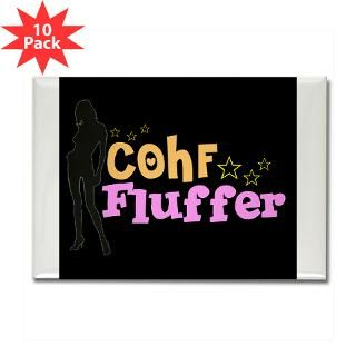 COHF Fluffer Rectangle Magnet (10 pack)