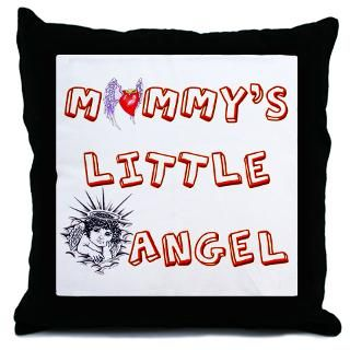 Mommys Little Angel  Tattoo Design T shirts and More