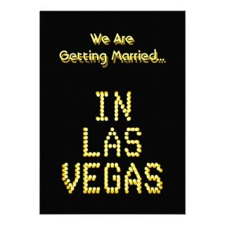 las vegas wedding invitations customize these wedding invites to show
