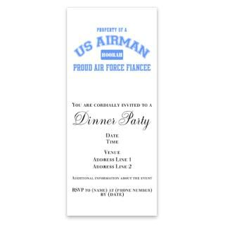 Proud Air Force Fiance Invitations by Admin_CP5284611