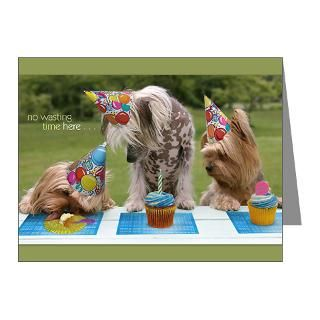 Chinese Crested Thank You Note Cards