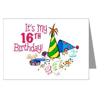 16Th Birthday Greeting Cards  Buy 16Th Birthday Cards