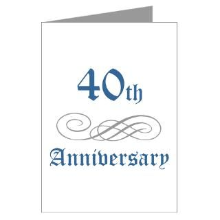 40Th Wedding Anniversary Greeting Cards  Buy 40Th Wedding Anniversary