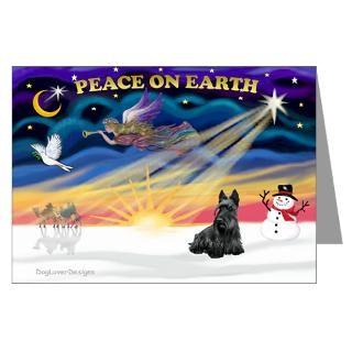 Scottie Christmas Greeting Cards  Buy Scottie Christmas Cards