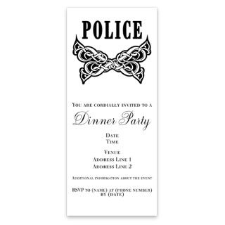 Police Tattoo Invitations by Admin_CP4634941