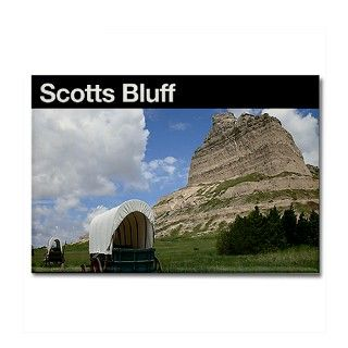 Gifts  Kitchen and Entertaining  Scotts Bluff NM Rectangle Magnet