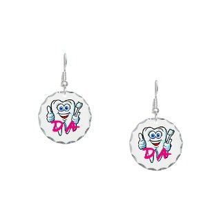 Cartoon Gifts > Cartoon Jewelry > Dental Assisting Earring Circle