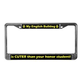 Honor Student License Plate Frame  Buy Honor Student Car License