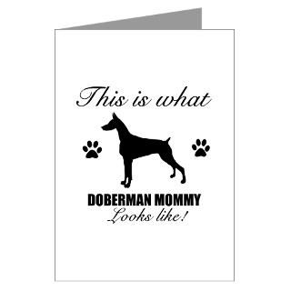 Doberman Pinscher Greeting Cards  Buy Doberman Pinscher Cards