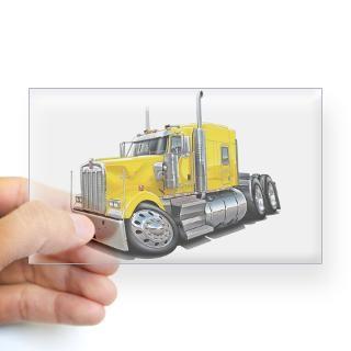 Tractor Trailer Stickers  Car Bumper Stickers, Decals