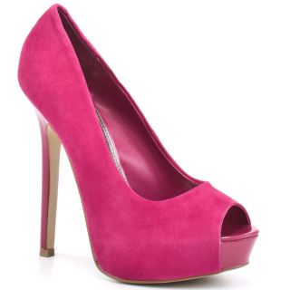 All Shoes / Steve Madden / Scandall   Fuschia Suede