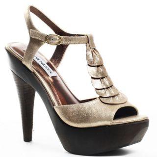 Heel of the Day Steve Madden Gold Truffle Shoe