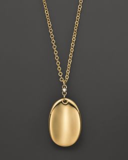 Roberto Coin 18K Yellow Gold Bold Oval Necklace