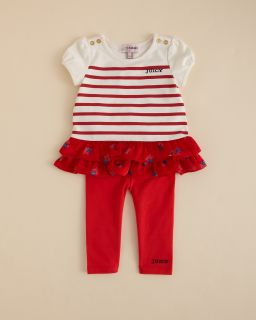 Girls Ruffle Top & Leggings   Sizes 3 24 Months