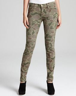 Current/Elliott Jeans   The Ankle Skinny in Army Camo
