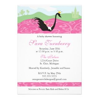 Boy Girl Shower Invitation   Little Princess