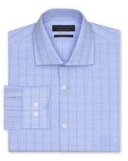The Mens Store at Plainweave Glen Plaid Dress Shirt