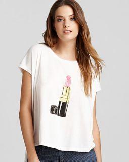 sauce tee lipstick asymmetric price $ 66 00 color white size select