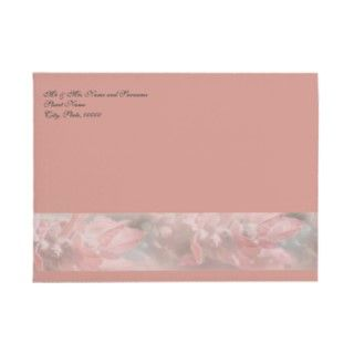 lavender classy wedding invitations envelopes