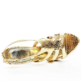 Consuela Heel   Gold, Baby Phat, $63.99