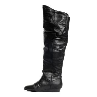 Boot   Black leather, Chinese Laundry, $101.69