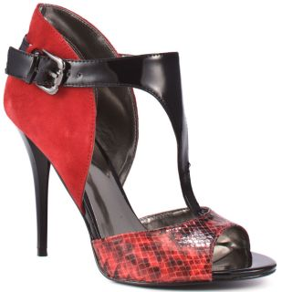 Okemos   Red Multi Suede, Guess, $84.99