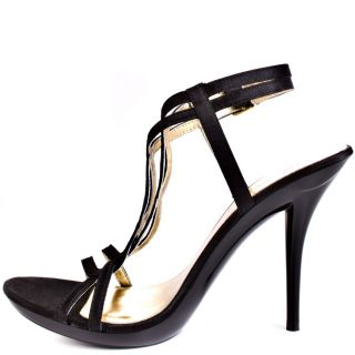 Michael Antonios Black Riordan Sat   Black Satin for 54.99