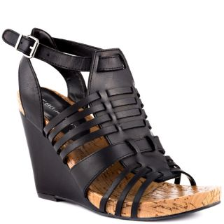 Virtuee Sandal   Black, Steve Madden, $59.99