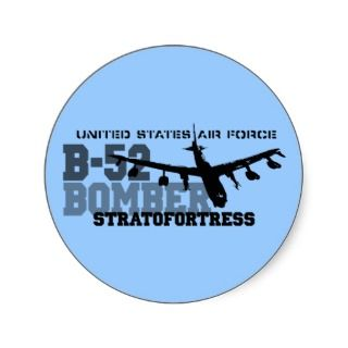 52 Aviation Air Force  Stratofortress Sticker