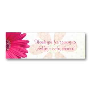 Daisy Baby Shower Favor Tags Business Card Templates