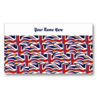 Flag Wallpaper, Your Name Here Business Card Template