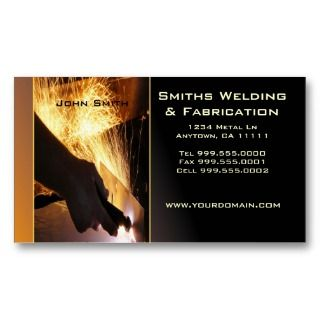 Metal Fab Business Card