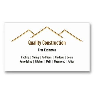 business card by lasting impressions more roofing business cards