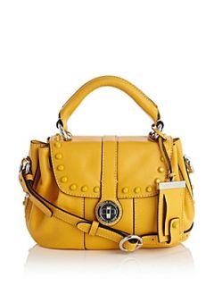 Karen Millen Colourful studded baby satchel