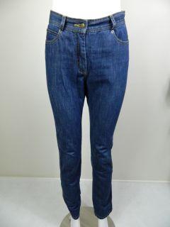 Karen Walker Runway Womens Blue Denim Jeans Sz 4 US 8 Aus RRP$300