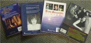 Lot of 4 Dark Shadows Books Tribute Scrapbook 2 Almanacs
