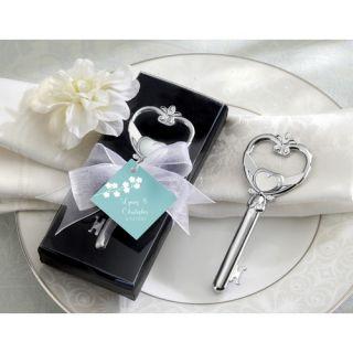 Kate Aspen Key to My Heart Victorian Style Bottle Opener 11003NA